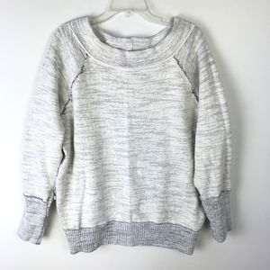 Free People Boat Neck Pullover Sweater #1740
